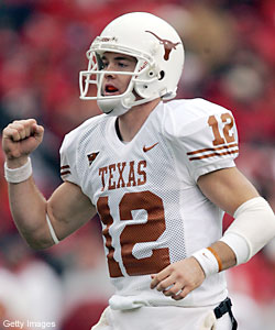 Can Colt McCoy lead Texas to a Championship?